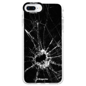 Silikonové pouzdro Bumper iSaprio Broken Glass 10 na mobil Apple iPhone 8 Plus