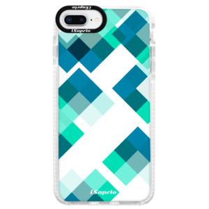 Silikonové pouzdro Bumper iSaprio Abstract Squares 11 na mobil iPhone 8 Plus