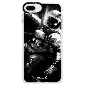 Silikonové pouzdro Bumper iSaprio Astronaut 02 na mobil iPhone 8 Plus