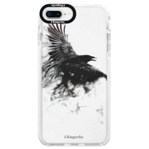 Silikonové pouzdro Bumper iSaprio Dark Bird 01 na mobil Apple iPhone 8 Plus
