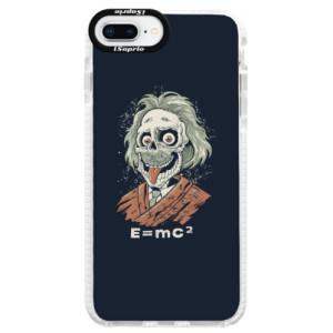 Silikonové pouzdro Bumper iSaprio Einstein 01 na mobil Apple iPhone 8 Plus