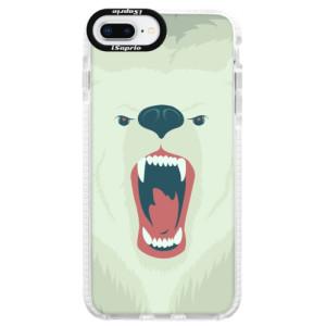 Silikonové pouzdro Bumper iSaprio Angry Bear na mobil iPhone 8 Plus