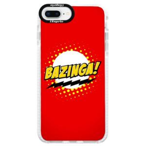 Silikonové pouzdro Bumper iSaprio Bazinga 01 na mobil iPhone 8 Plus