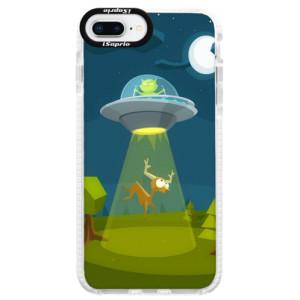 Silikonové pouzdro Bumper iSaprio Alien 01 na mobil iPhone 8 Plus