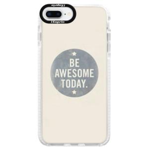 Silikonové pouzdro Bumper iSaprio Awesome 02 na mobil iPhone 8 Plus