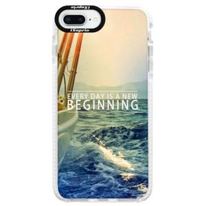 Silikonové pouzdro Bumper iSaprio Beginning na mobil Apple iPhone 8 Plus