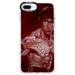 Silikonové pouzdro Bumper iSaprio Bruce Lee na mobil Apple iPhone 8 Plus