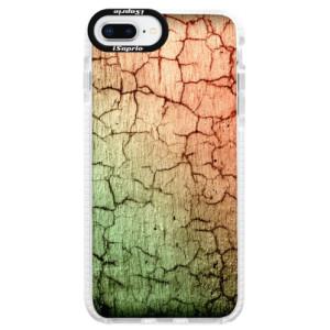 Silikonové pouzdro Bumper iSaprio Cracked Wall 01 na mobil Apple iPhone 8 Plus