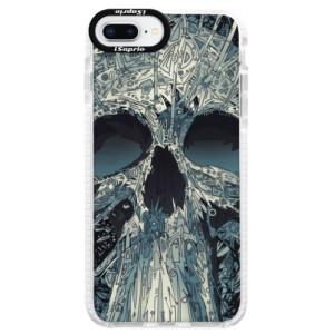Silikonové pouzdro Bumper iSaprio Abstract Skull na mobil iPhone 8 Plus