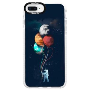 Silikonové pouzdro Bumper iSaprio Balloons 02 na mobil iPhone 8 Plus