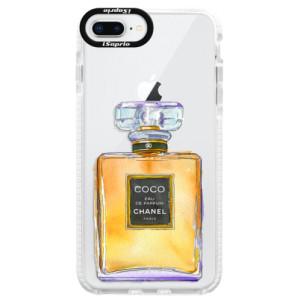 Silikonové pouzdro Bumper iSaprio Chanel Gold na mobil Apple iPhone 8 Plus