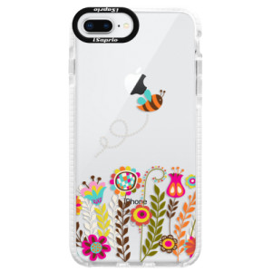 Silikonové pouzdro Bumper iSaprio Bee 01 na mobil Apple iPhone 8 Plus