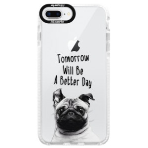 Silikonové pouzdro Bumper iSaprio Better Day 01 na mobil Apple iPhone 8 Plus