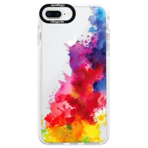 Silikonové pouzdro Bumper iSaprio Color Splash 01 na mobil Apple iPhone 8 Plus