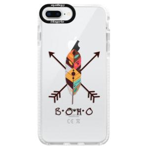 Silikonové pouzdro Bumper iSaprio BOHO na mobil Apple iPhone 8 Plus