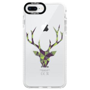 Silikonové pouzdro Bumper iSaprio Deer Green na mobil Apple iPhone 8 Plus