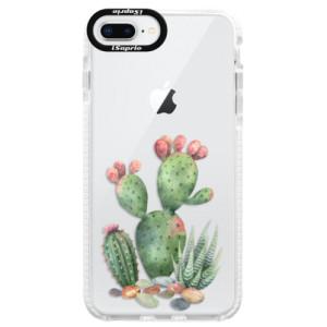 Silikonové pouzdro Bumper iSaprio Cacti 01 na mobil Apple iPhone 8 Plus