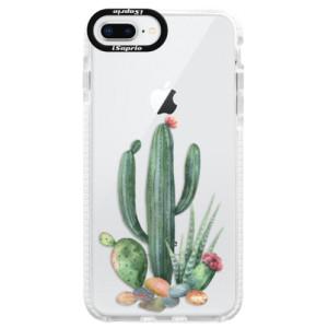 Silikonové pouzdro Bumper iSaprio Cacti 02 na mobil Apple iPhone 8 Plus