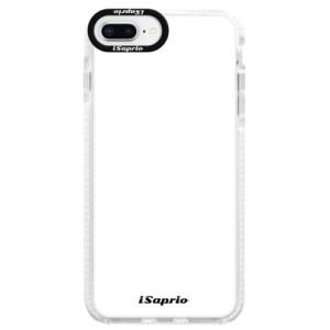 Silikonové pouzdro Bumper iSaprio 4Pure bílé na mobil iPhone 8 Plus