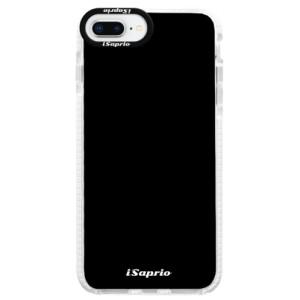 Silikonové pouzdro Bumper iSaprio 4Pure černé na mobil iPhone 8 Plus