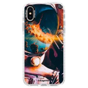Silikonové pouzdro Bumper iSaprio Astronaut 01 na mobil iPhone X