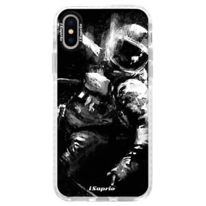 Silikonové pouzdro Bumper iSaprio Astronaut 02 na mobil iPhone X