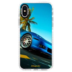 Silikonové pouzdro Bumper iSaprio Car 10 na mobil Apple iPhone X