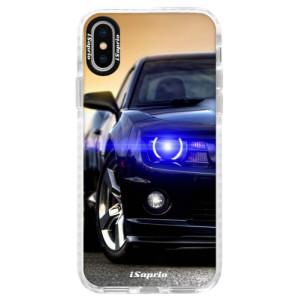 Silikonové pouzdro Bumper iSaprio Chevrolet 01 na mobil Apple iPhone X