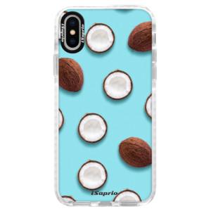 Silikonové pouzdro Bumper iSaprio Coconut 01 na mobil Apple iPhone X