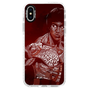 Silikonové pouzdro Bumper iSaprio Bruce Lee na mobil Apple iPhone X