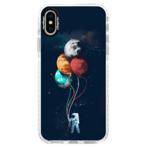 Silikonové pouzdro Bumper iSaprio Balloons 02 na mobil iPhone X