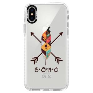 Silikonové pouzdro Bumper iSaprio BOHO na mobil Apple iPhone X