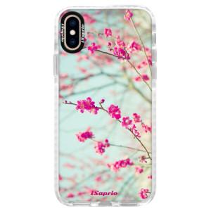 Silikonové pouzdro Bumper iSaprio Blossom 01 na mobil Apple iPhone XS