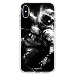 Silikonové pouzdro Bumper iSaprio Astronaut 02 na mobil iPhone XS