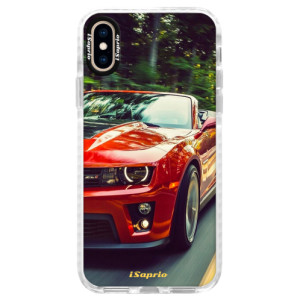 Silikonové pouzdro Bumper iSaprio Chevrolet 02 na mobil Apple iPhone XS