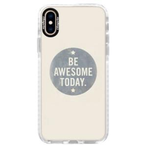 Silikonové pouzdro Bumper iSaprio Awesome 02 na mobil iPhone XS