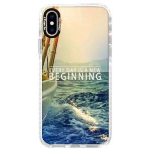 Silikonové pouzdro Bumper iSaprio Beginning na mobil Apple iPhone XS