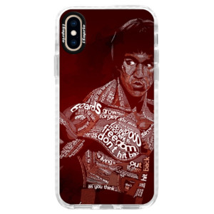 Silikonové pouzdro Bumper iSaprio Bruce Lee na mobil Apple iPhone XS