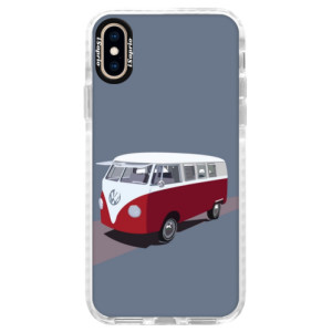 Silikonové pouzdro Bumper iSaprio VW Bus na mobil Apple iPhone XS