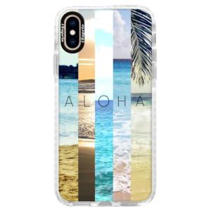 Silikonové pouzdro Bumper iSaprio Aloha 02 na mobil iPhone XS