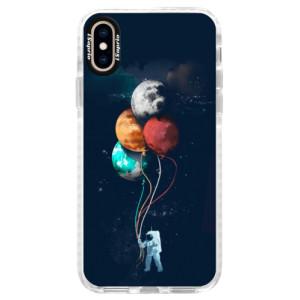 Silikonové pouzdro Bumper iSaprio Balloons 02 na mobil iPhone XS