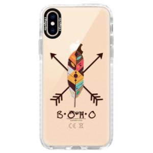 Silikonové pouzdro Bumper iSaprio BOHO na mobil Apple iPhone XS