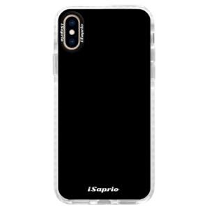 Silikonové pouzdro Bumper iSaprio 4Pure černé na mobil iPhone XS