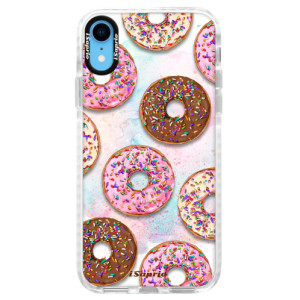 Silikonové pouzdro Bumper iSaprio Donuts 11 na mobil Apple iPhone XR