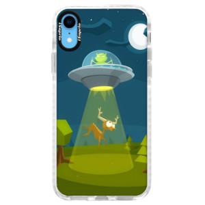 Silikonové pouzdro Bumper iSaprio Alien 01 na mobil iPhone XR