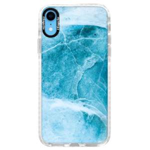 Silikonové pouzdro Bumper iSaprio Blue Marble na mobil Apple iPhone XR