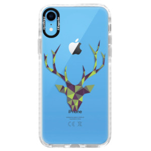 Silikonové pouzdro Bumper iSaprio Deer Green na mobil Apple iPhone XR