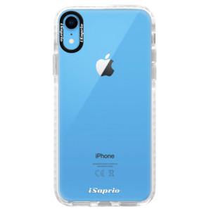 Silikonové pouzdro Bumper iSaprio 4Pure mléčné bez potisku na mobil iPhone XR