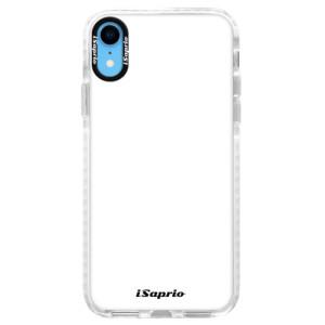 Silikonové pouzdro Bumper iSaprio 4Pure bílé na mobil iPhone XR
