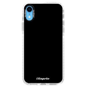 Silikonové pouzdro Bumper iSaprio 4Pure černé na mobil iPhone XR